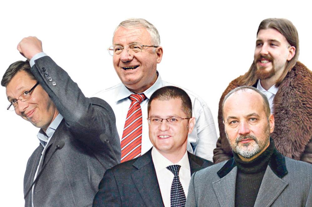 RIK PROGLASIO ZVANIČNE REZULTATE IZBORA: Vučić 55,08, Janković 16,36, Beli 9,43 odsto glasova