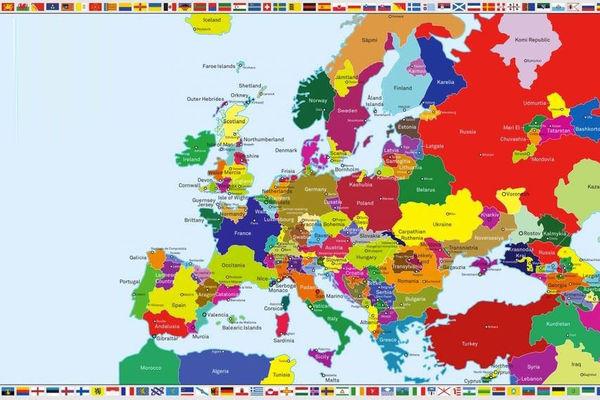 buduca karta evrope OSTVARUJE SE PUTINOVA KARTA EVROPE: Evo kako ruski predsednik vidi  buduca karta evrope