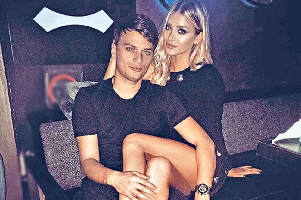 Adem Ljajić i Sofija Milošević, foto: Instagram