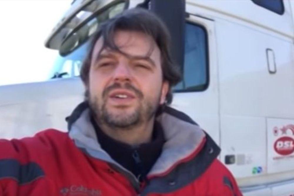 (VIDEO) GLAS NOSTALGIJE SRBA U SAD: Pogledajte kako pozdravljaju  američke kamiondžije