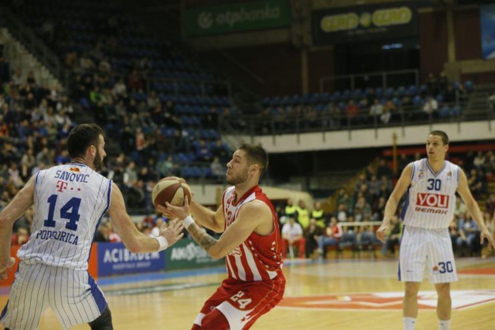 Zvezda - Budućnost, Foto: ABA liga