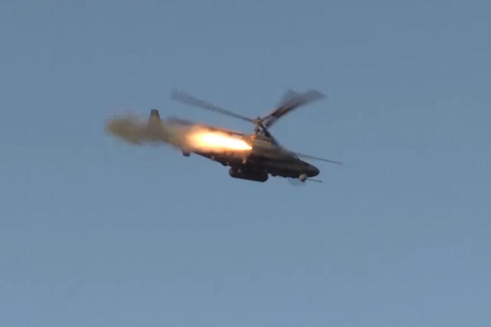 (VIDEO) RUSKA PALUBNA AVIJACIJA JAČA NEKO IKAD: Ovi helikopteri džihadistima unose STRAH U KOSTI!