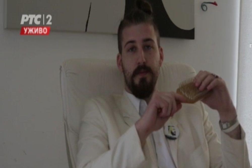 BELI NATERAO RTS DA ĆUTI 5 MINUTA: Pogledajte šta je uradio Preletačević