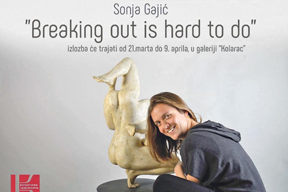 VAJARSKA IZLOŽBA U KOLARCU: Skulpturom protiv anomalija u društvu