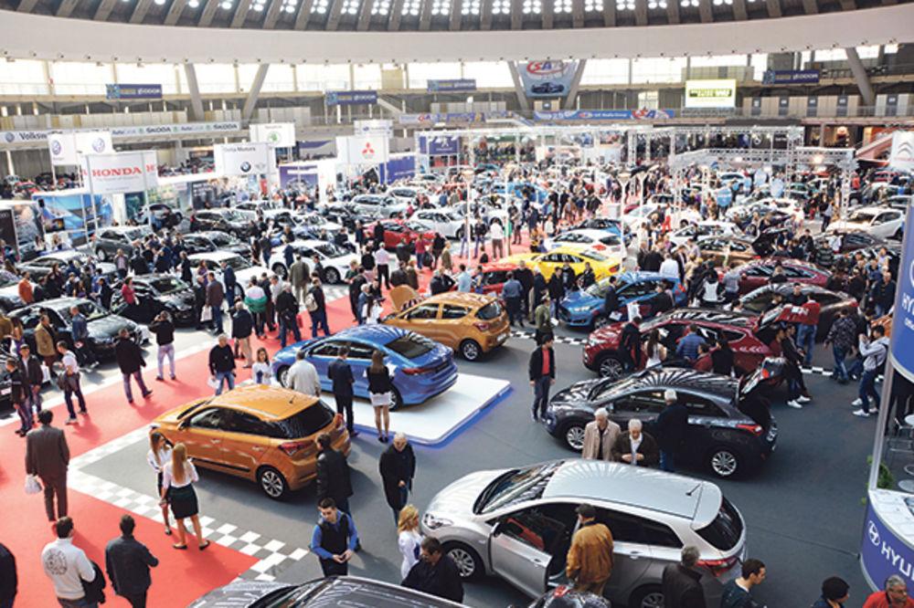 STIŽE SAJAM: Salon automobila od 24. marta do 2. aprila