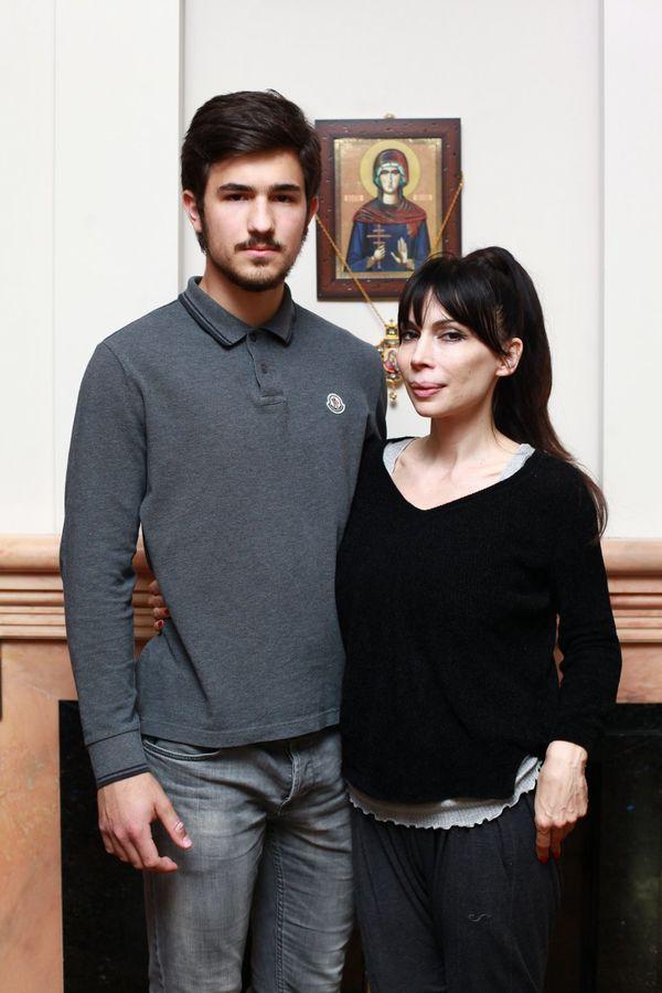 Milica sa sinom Markom (Foto: Dragana Udovičić)