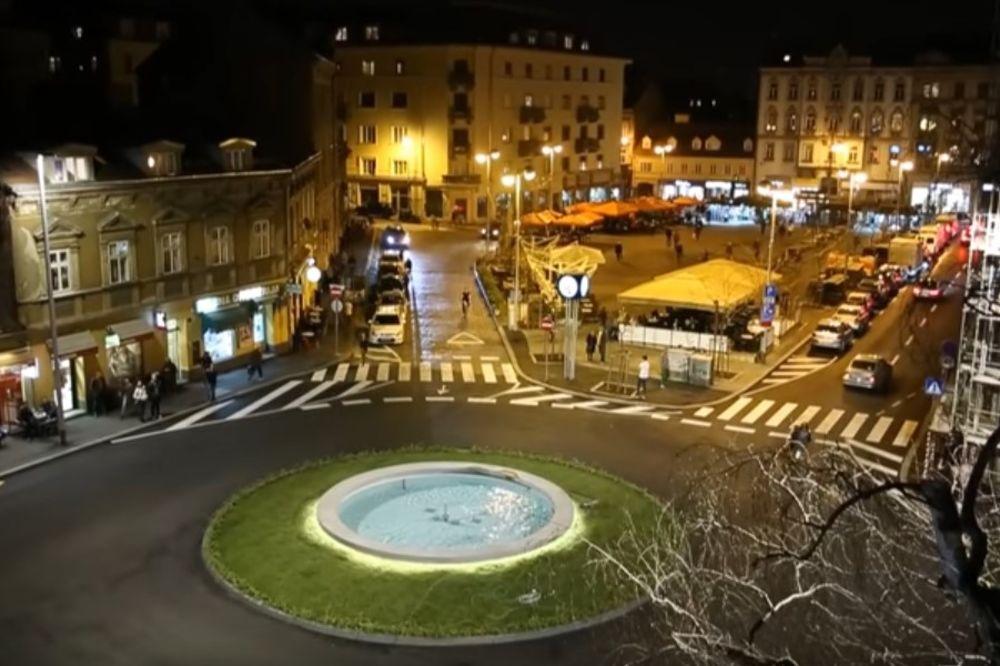 SKANDAL NA OTVARANJU TRGA U ZAGREBU: Muškarac URINIRAO u fontanu dok je gradonačelnik držao govor