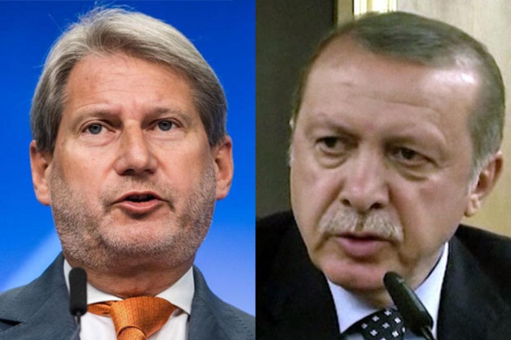 HAN PORUČIO TURSKOJ: Rizikujete članstvo u EU! ERDOGAN odgovara: Prošlo je vreme PRETNJI!