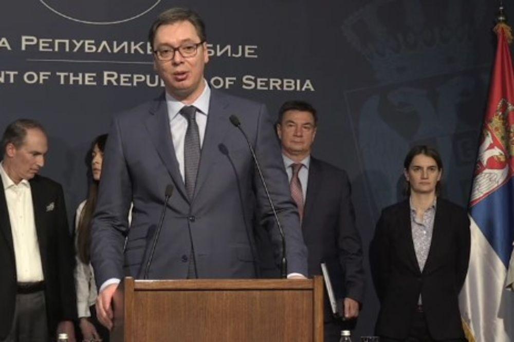 KURIR TV VLADA SRBIJE Vučić: Veliki dan za Srbiju, otvoreno novih 1.500 radnih mesta