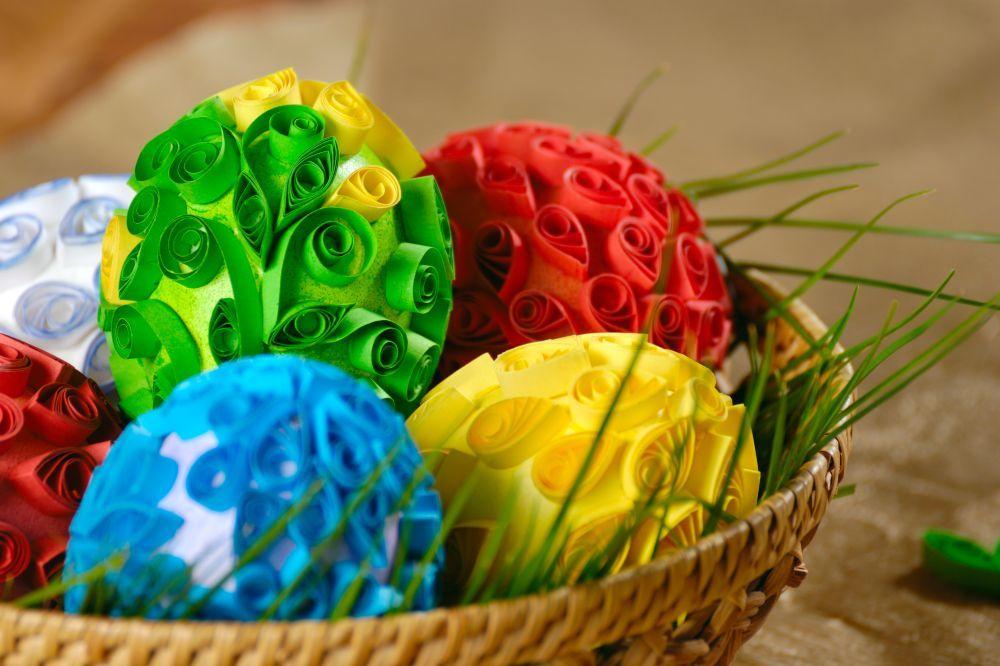 Резултат слика за Uskršnja jaja kviling