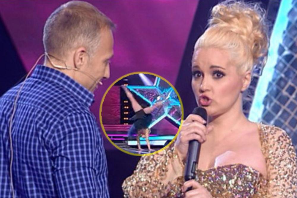 (VIDEO) NEVERICA U STUDIJU: Maja Nikolić U SUKNJI usred emisije napravila zvezdu! SVE SE VIDELO!