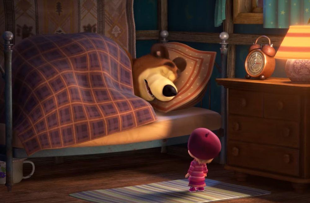 картинка комнаты маша и медведь поленозимой холодно зябко