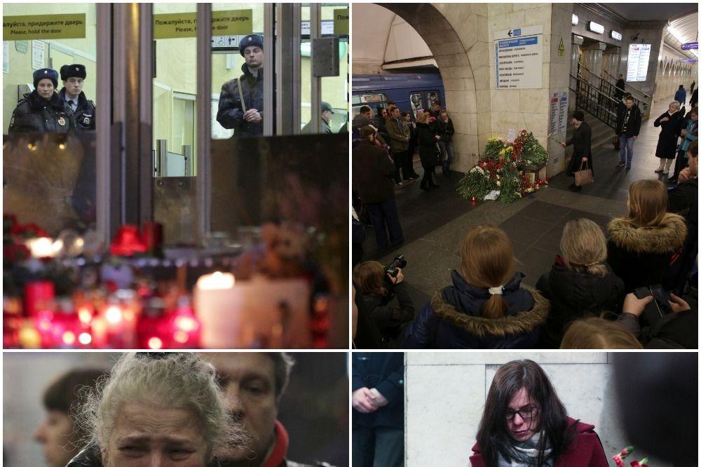DRAMA U SANKT PETERBURGU NE PRESTAJE: Broj poginulih porastao na 16, u bolnici još 24 ljudi