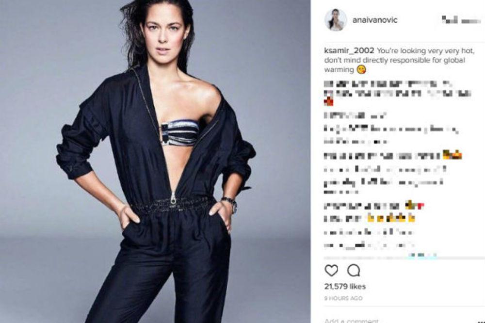 Ana Ivanović, Foto: Instagram