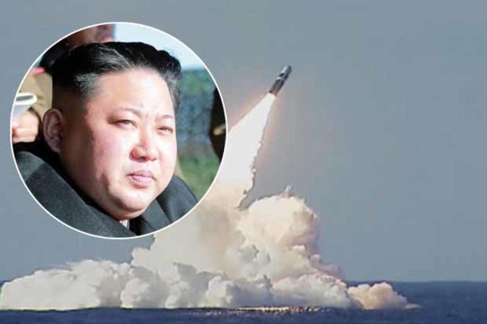 KIM ISPALIO KECA IZ RUKAVA –  Svet u šoku,severnokorejska balistička raketa dostigla visinu od 560 kilometara!?