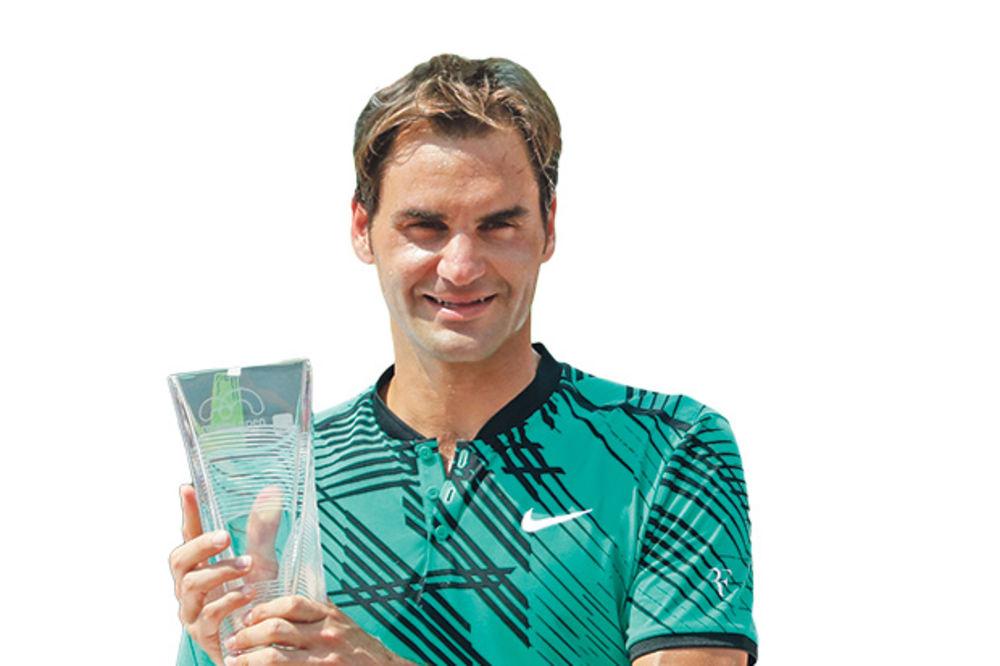 Bez starca nema udarca... Rodžer Federer