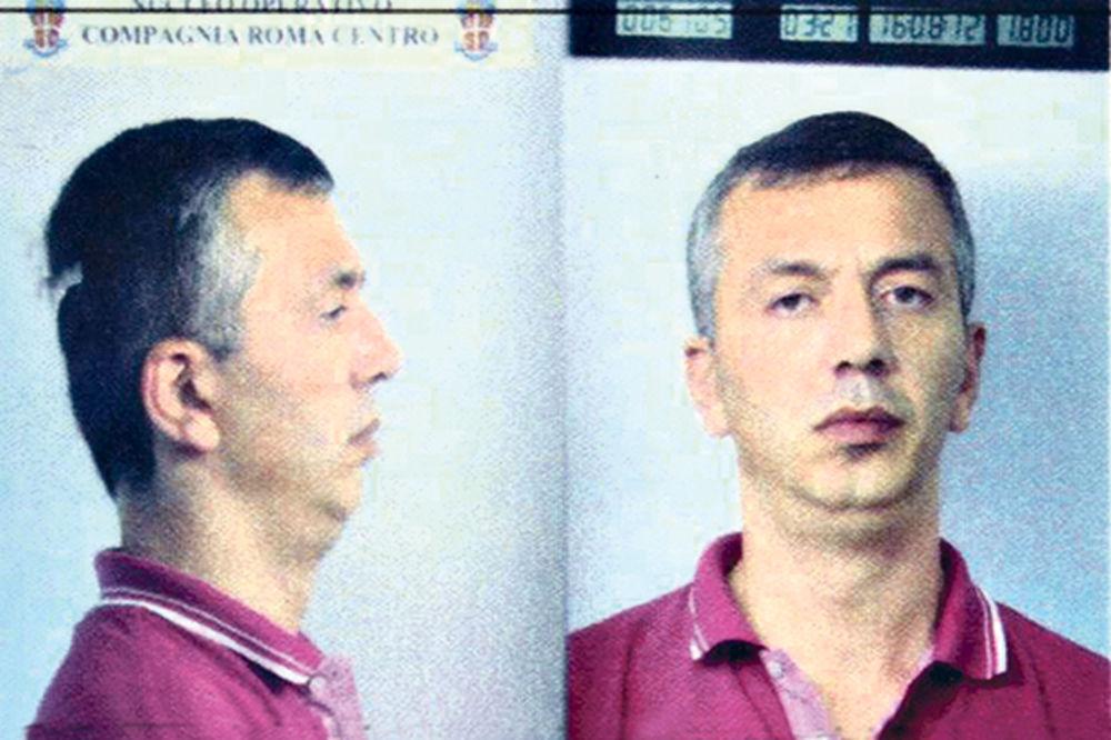 PAO GRUZIN: Vođa italijanske mafije uhapšen u Beogradu