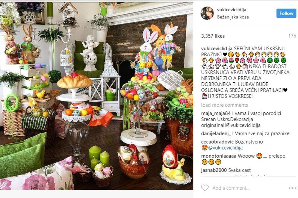 HRISTOS VOSKRESE -SREĆAN USKRS - Page 9 Lidija-vukicevic-instagram-1492329366-1160237