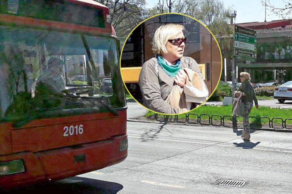 ZORICA MARKOVIĆ VIKALA NA VOZAČA TROLE: Pazi kako voziš, vidiš da prelazim