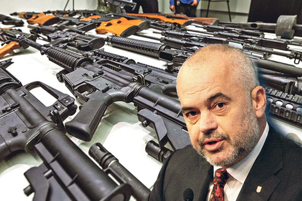 SLUŽBE RASKRINKALE ALBANSKOG PREMIJERA: Edi Rama naoružava Albance sa Kosova
