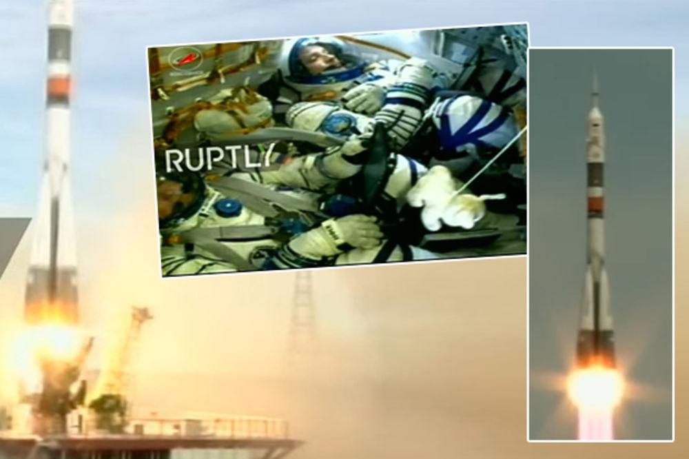 (VIDEO) DIREKTNO IZ KOSMOSA: Poleteo Sojuz s pojačanjem za Međunarodnu kosmičku stanicu