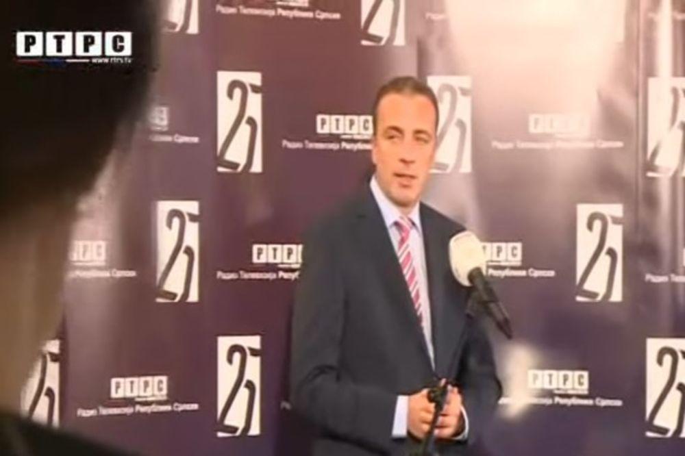 Draško Milinović: Imamo i najveću gledanost i najbolje rezultate (Foto: Printscreen YouTube/RTS)