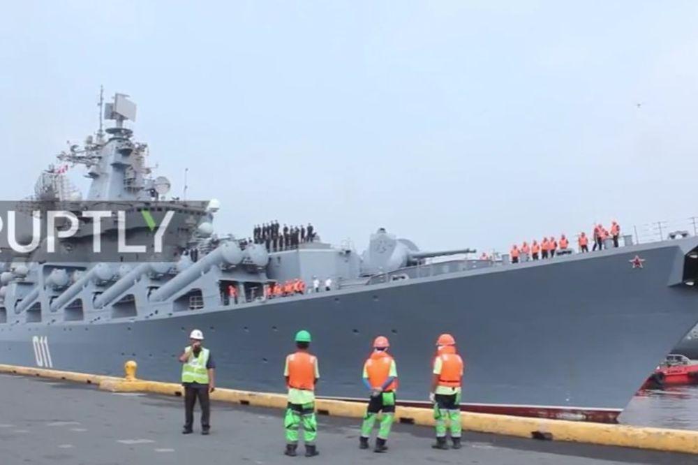 (VIDEO) ODUŠEVLJENJE NA FILIPINIMA: Ruski brodovi došli na četvorodnevnu vojnu vežbu