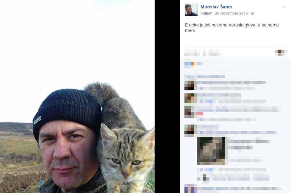 Miroslav Šarac Foto Facebook printscreen