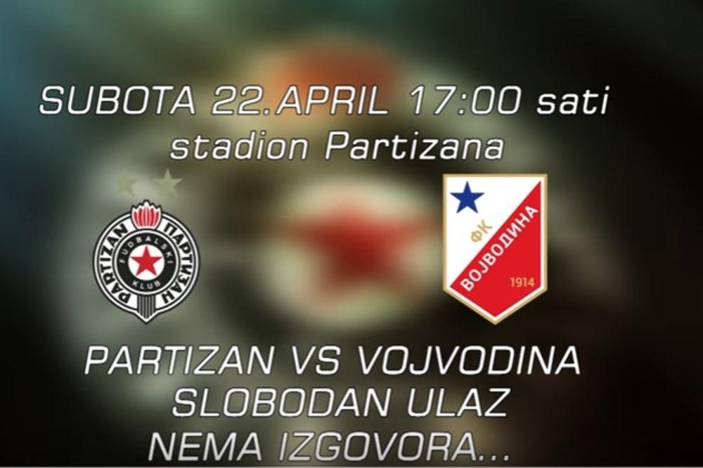 (VIDEO) GROBARI, SVI NA STADION! Besplatan ulaz na utakmicu Partizana i Vojvodine