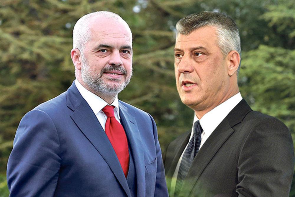 KREMLJ BESAN ZBOG VELIKOALBANSKIH PRETNJI: Tači i Rama destabilizuju Balkan pod kišobranom NATO