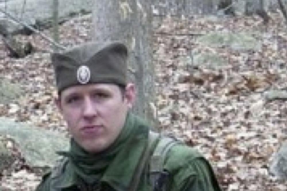 Erik Frejn u srpskoj uniformi pre nego što je započeo smrtonosan pohod (Foto: AP)
