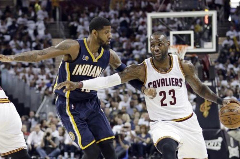 DRAMA U NBA: Senzacionalni Klivlend na krilima Lebrona Džejmsa nadoknadio -25 i pobedio Indijanu