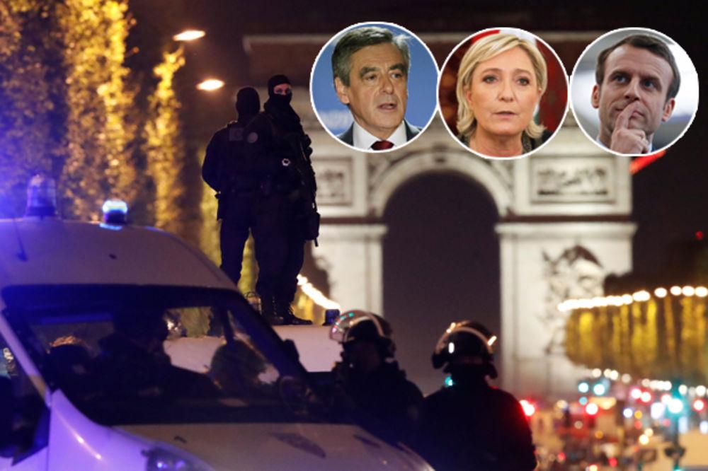 FRANCUSKA POD OPSADOM: Predsednički kandidati otkazali sve skupove, Oland obećava oprez
