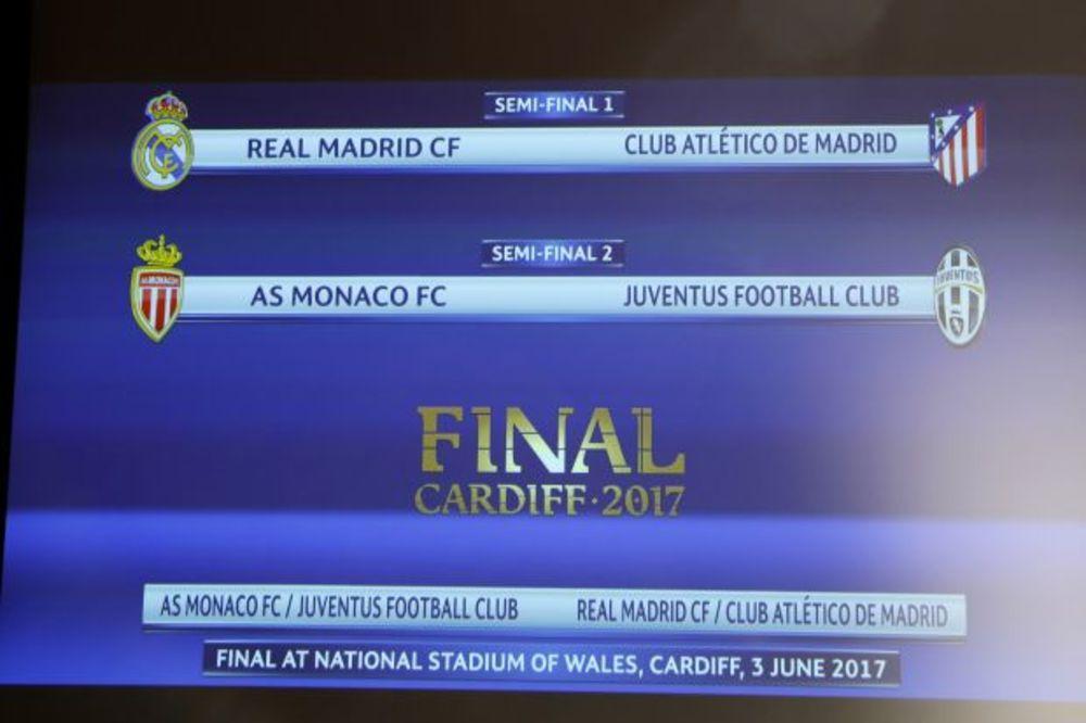 (VIDEO) MADRIDSKI DERBI U POLUFINALU LŠ: Real na Atletiko, Juventus protiv Monaka