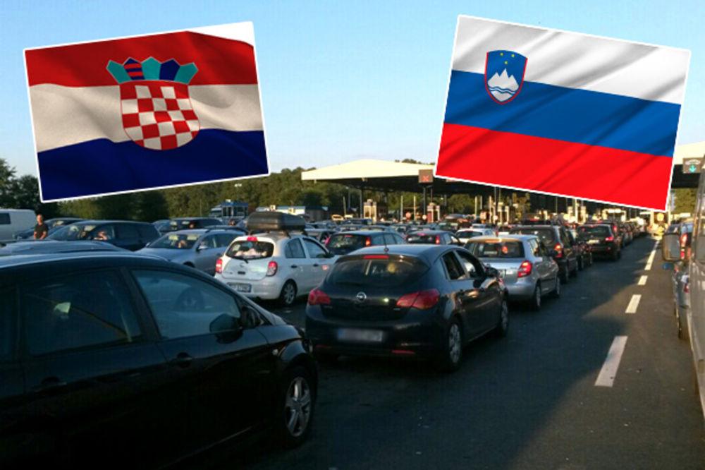 RAT KOMŠIJA ZBOG UNIJE: Evropska uredba o granici ZAVADILA Hrvatsku i Sloveniju