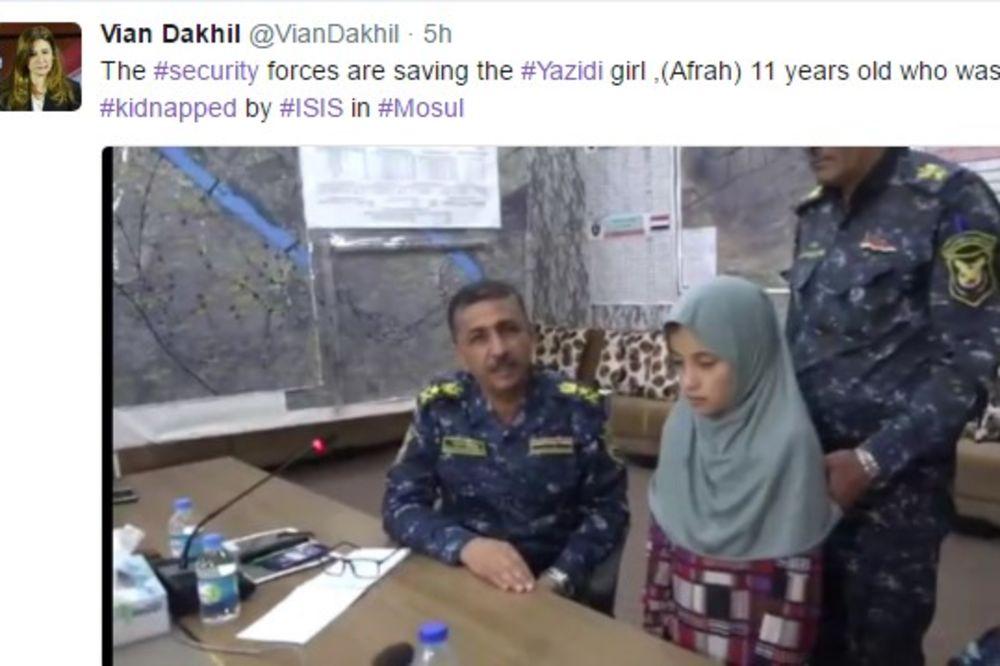 BOG ZNA ŠTA JE JADNO DETE PREŽIVELO: Oslobođena devojčica (11) koju su džihadisti oteli pre 4 godine