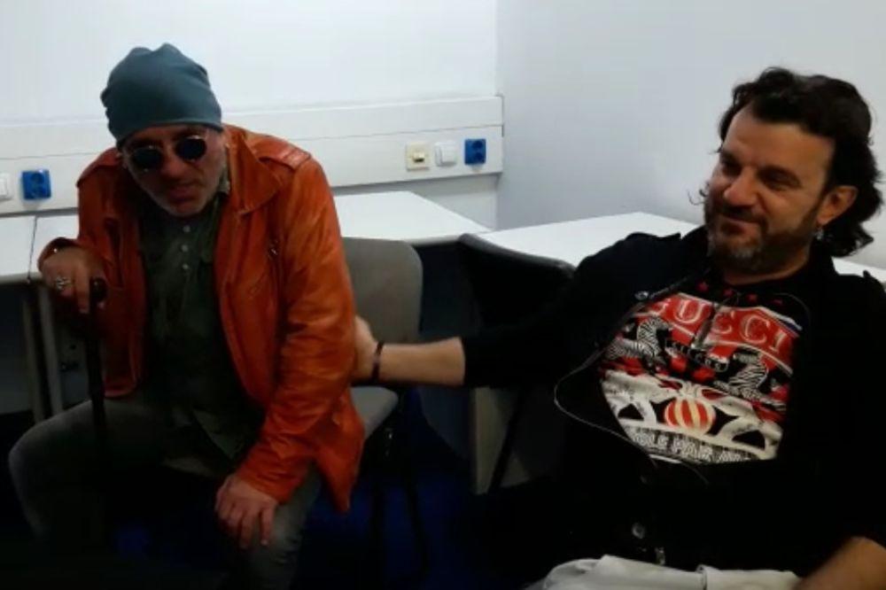 (VIDEO) KURIR NA PROBI FOLK ZVEZDE PRED SPEKTAKL: Tifa i Marija zapevali sa LUKASOM!