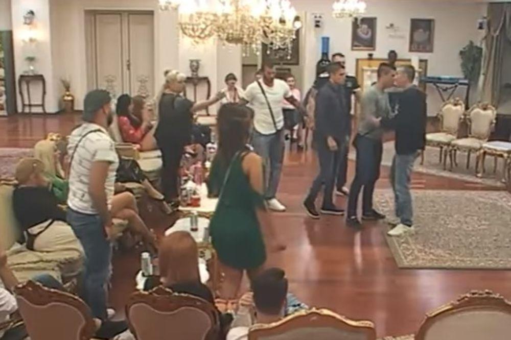 (VIDEO) UKUĆANI IH RAZDVAJALI: Miljanin otac NASRNUO na Vesnu Rivas! Evo ŠTA mu je rekla!