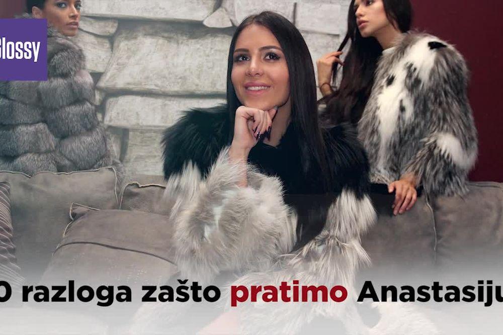 (KURIR TV) ZVEZDA DRUŠTVENIH MREŽA: 10 razloga zašto pratimo Anastasiju