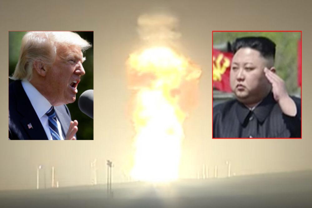 TRAMP ZABIO PRST U OKO KIMU – Amerika testirala balističku raketu!