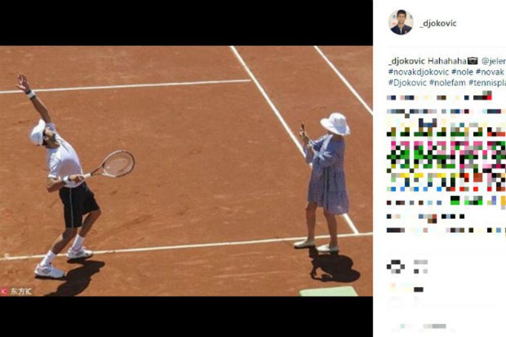 Novak Đoković, Jelena Đoković, Foto: Instagram