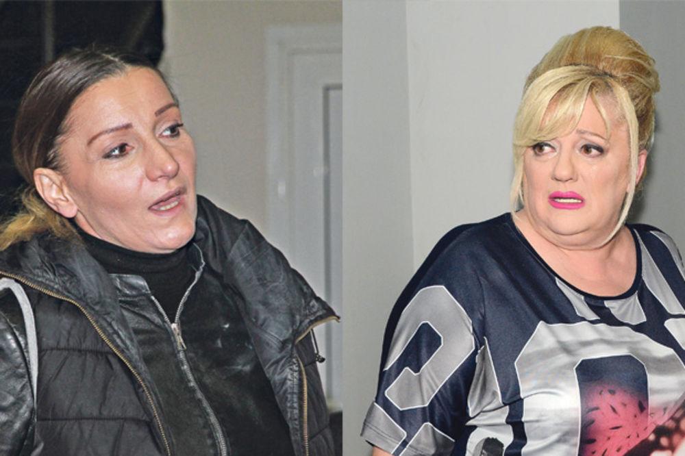 Mira Škorić, Vesna Rivas, Lepa Brena, Saša Popović, foto Dragan Kadić, Nebojša M