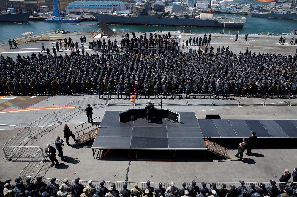 OVA SE KRIZA NEĆE TAKO LAKO SMIRITI: Amerikanci šalju i drugi nosač aviona ka Korejskom poluostrvu