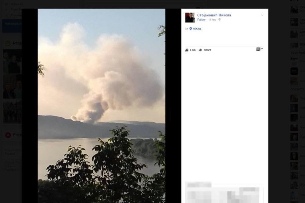 (FOTO) SMRAD GUŠIO BEOGRAĐANE: Ugašen požar na deponiji u Vinči!