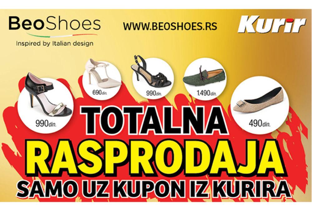 SAMO DANAS I SUTRA UZ KUPON IZ KURIRA: Čak 85% popusta na aktuelnu kolekciju ženske i muške obuće