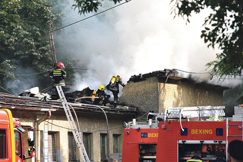 RADNIK PODMETNUO POŽAR: Zapalio šefa zbog duga od dve plate