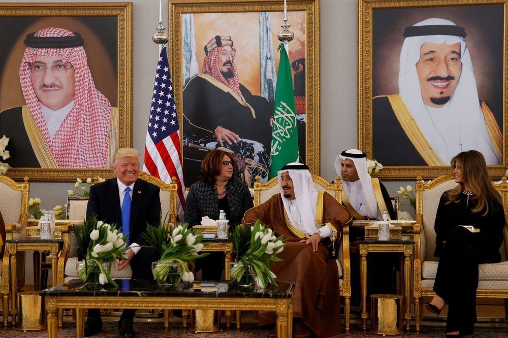 TRAMPOVO PRVO PREDSEDNIČKO PUTOVANJE: Stigao u Saudijsku Arabiju, sutra drži govor o islamu