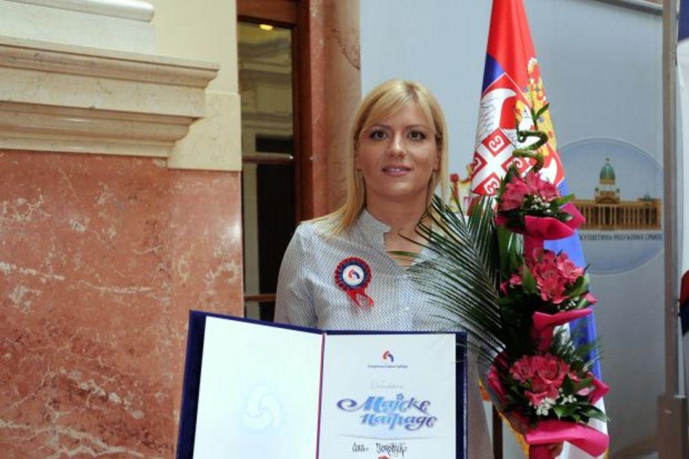 Majska nagrada za potpredsednicu KSS Anu Joković