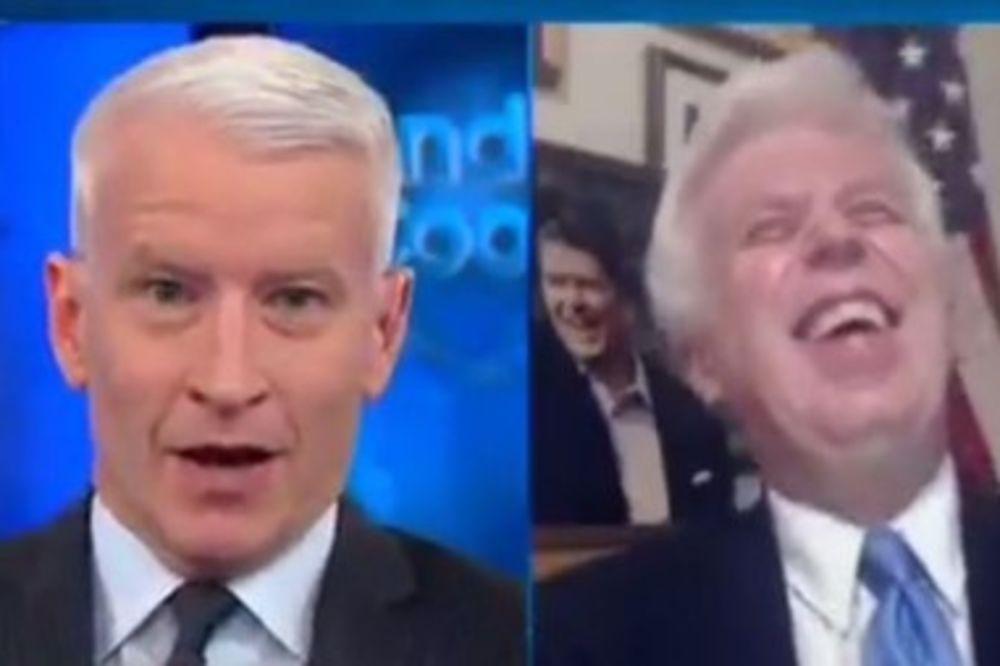 (VIDEO) NOVINAR CNN PRSO PRED KAMERAMA: Da vam se Tramp pos..e na sto vi biste ga branili!