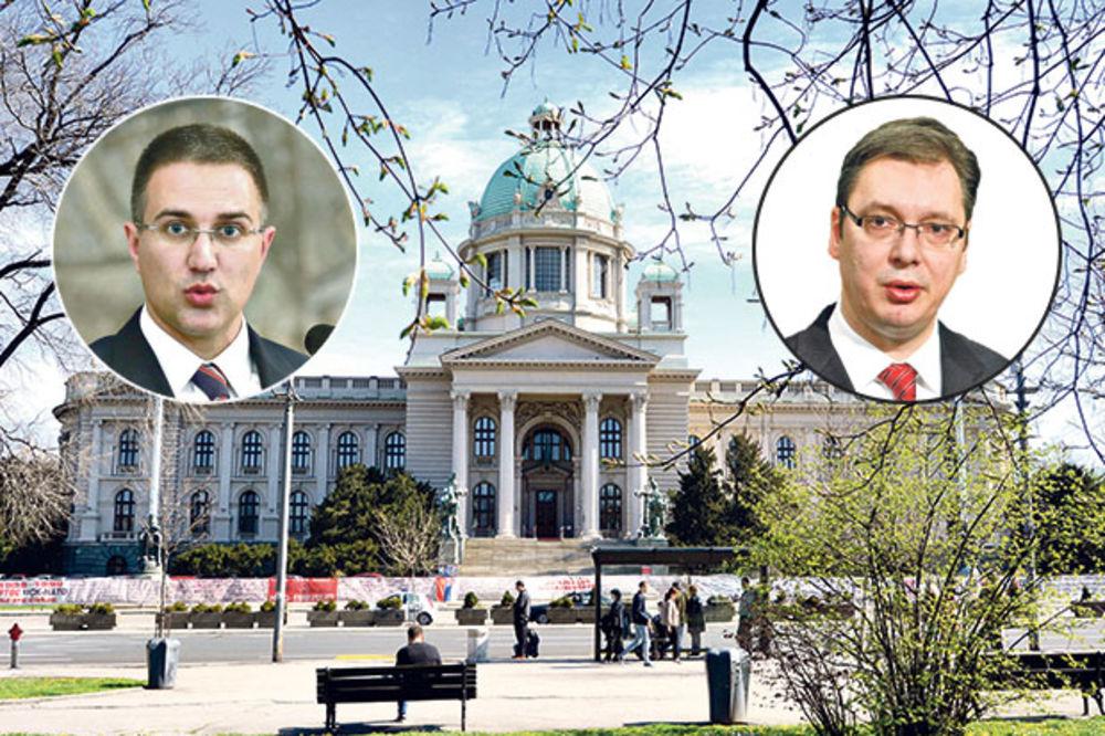STEFANOVIĆ NAJAVLJUJE: Veliki miting za inauguraciju Vučića